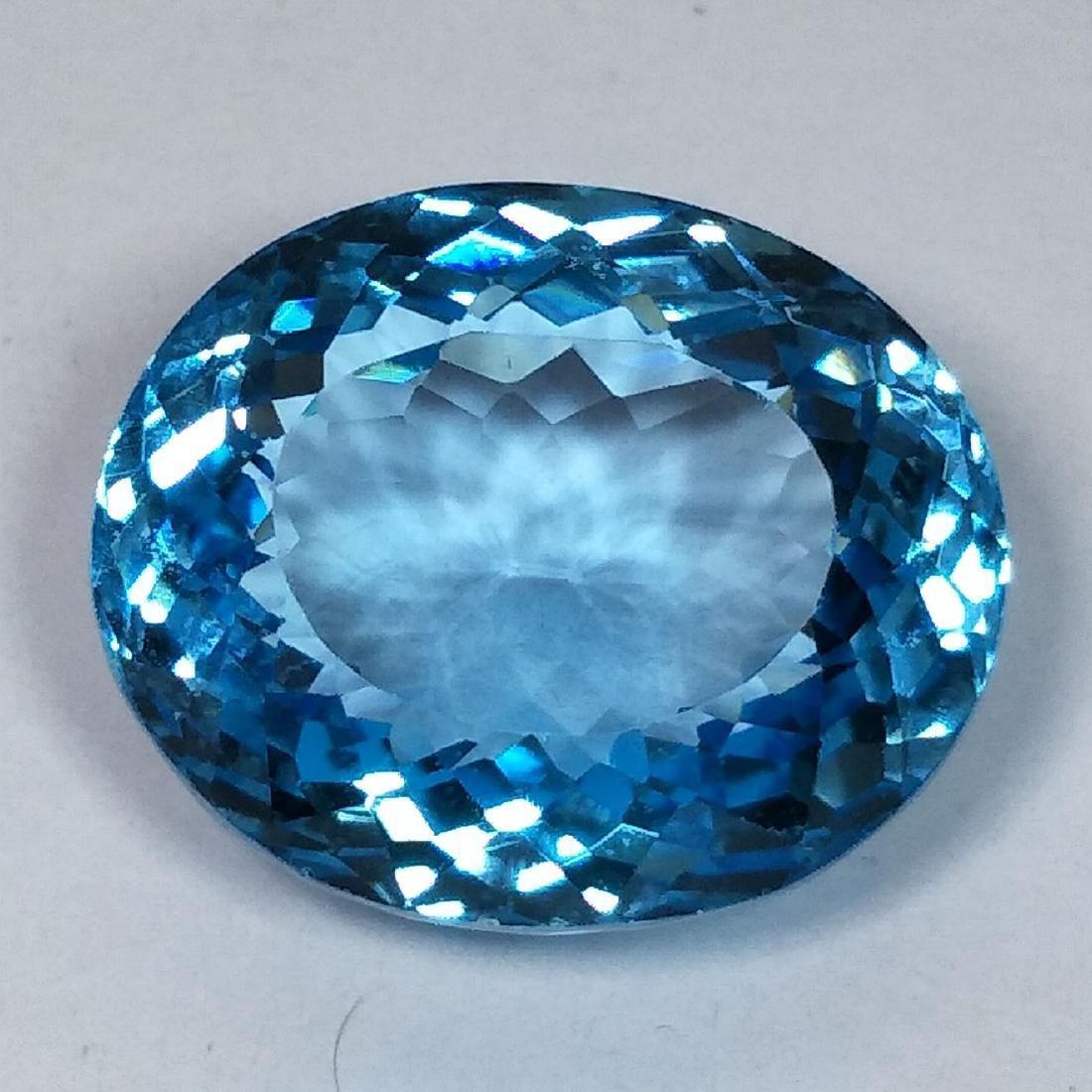 31.09 Carat Loose Swiss Blue Topaz - 2