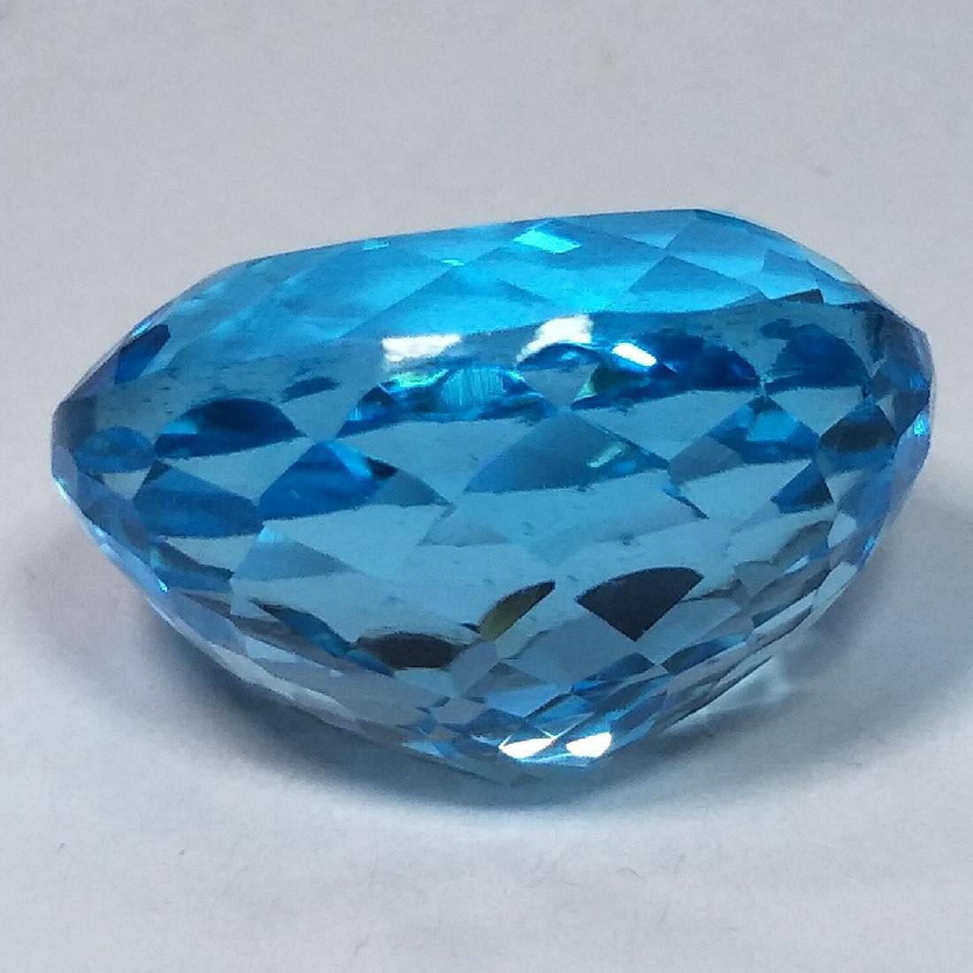 31.09 Carat Loose Swiss Blue Topaz - 4