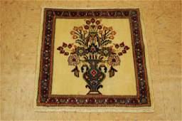 Persian Bijar Carpet Rug 1.7x1.8