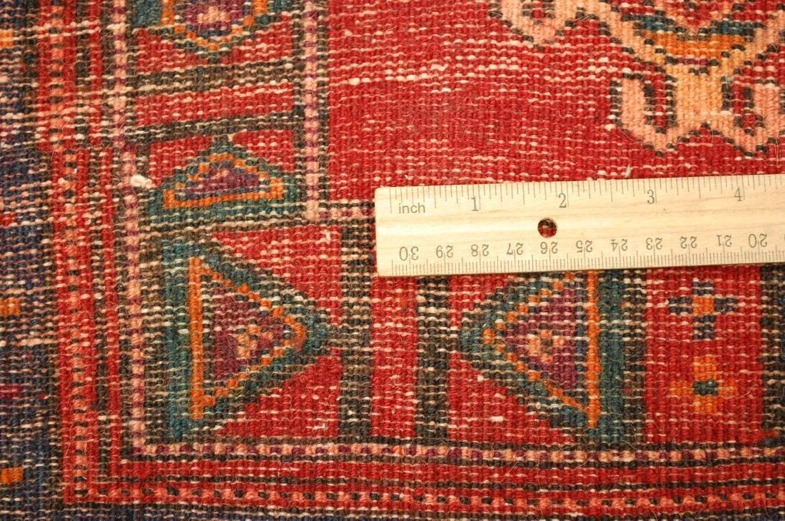 Rare Caucasian Poshty Rug 1.9x1.10 - 6