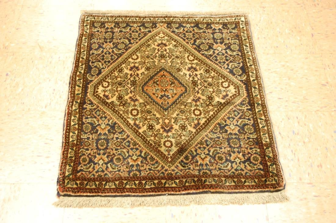 Detailed High Kpsi Persian Bijar Rug 2.4x3