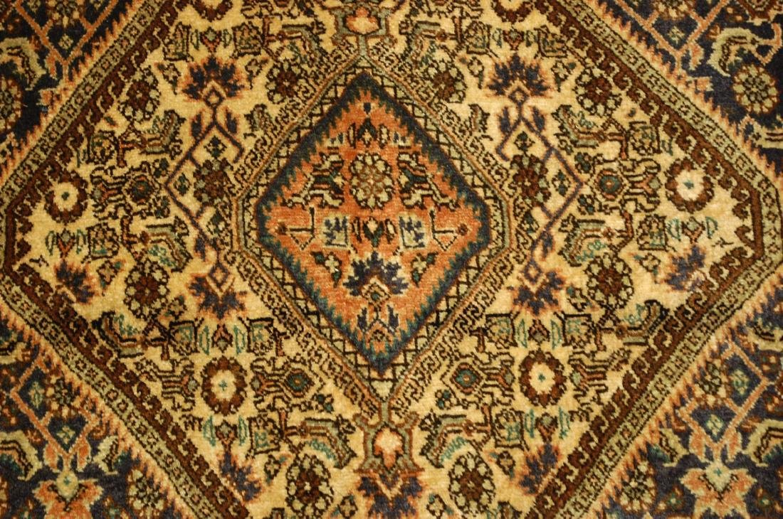 Detailed High Kpsi Persian Bijar Rug 2.4x3 - 2