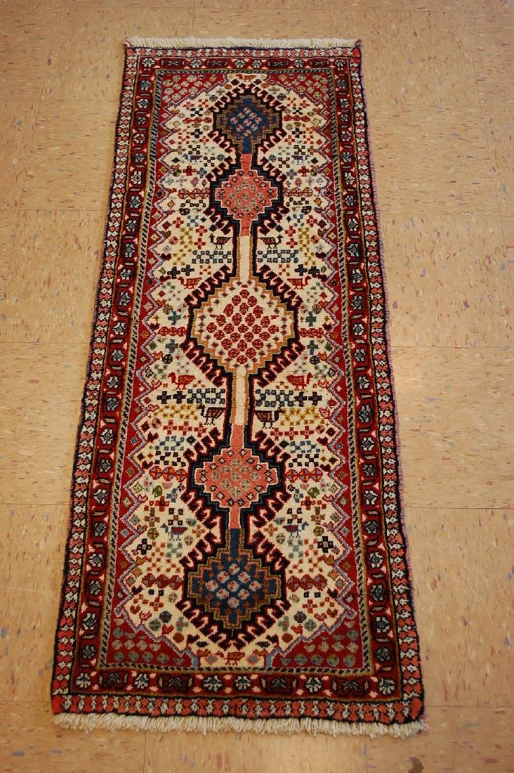 Persian Shiraz Qashkai Runner Rug 1.9x4.7