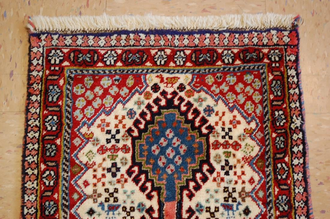 Persian Shiraz Qashkai Runner Rug 1.9x4.7 - 3