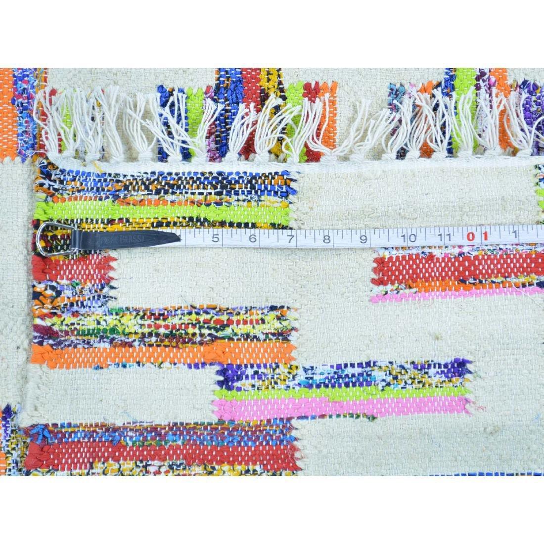Flat Weave Kilim Hand Woven Oriental Rug 6x9.1 - 5