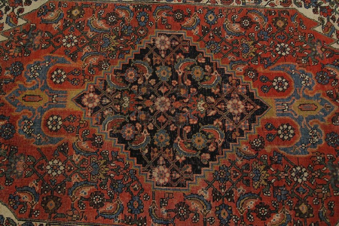 Authentic Antique Bijar Rug Fine Persian Rug 5x8