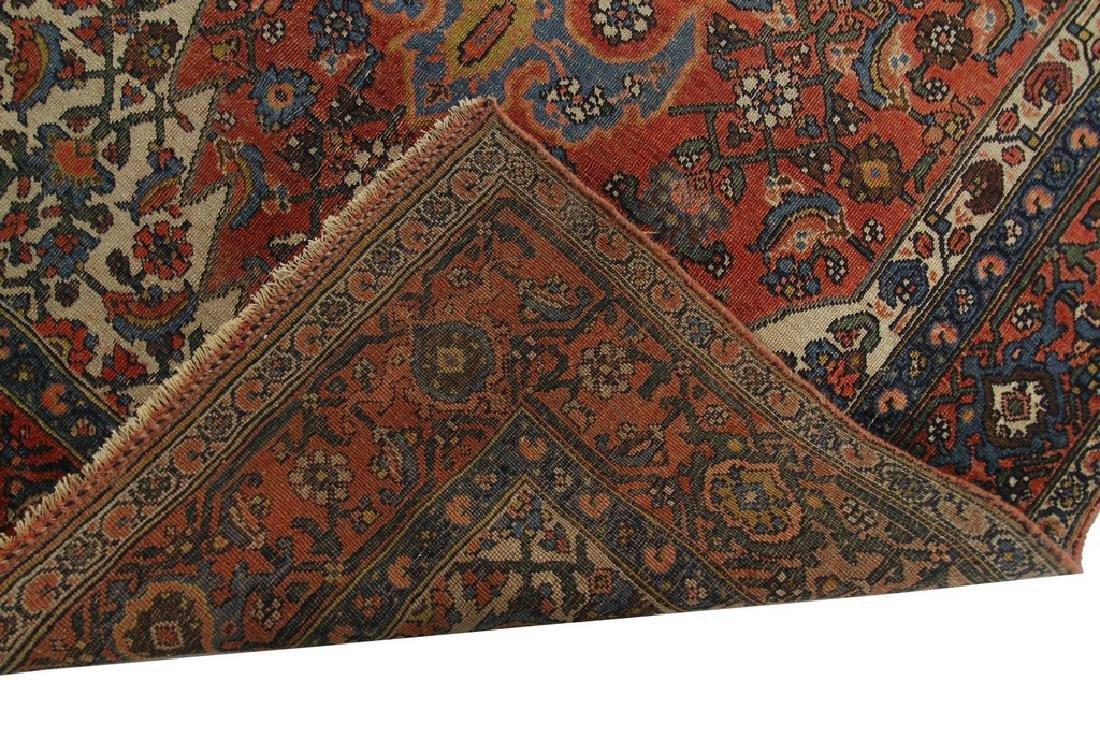 Authentic Antique Bijar Rug Fine Persian Rug 5x8 - 3