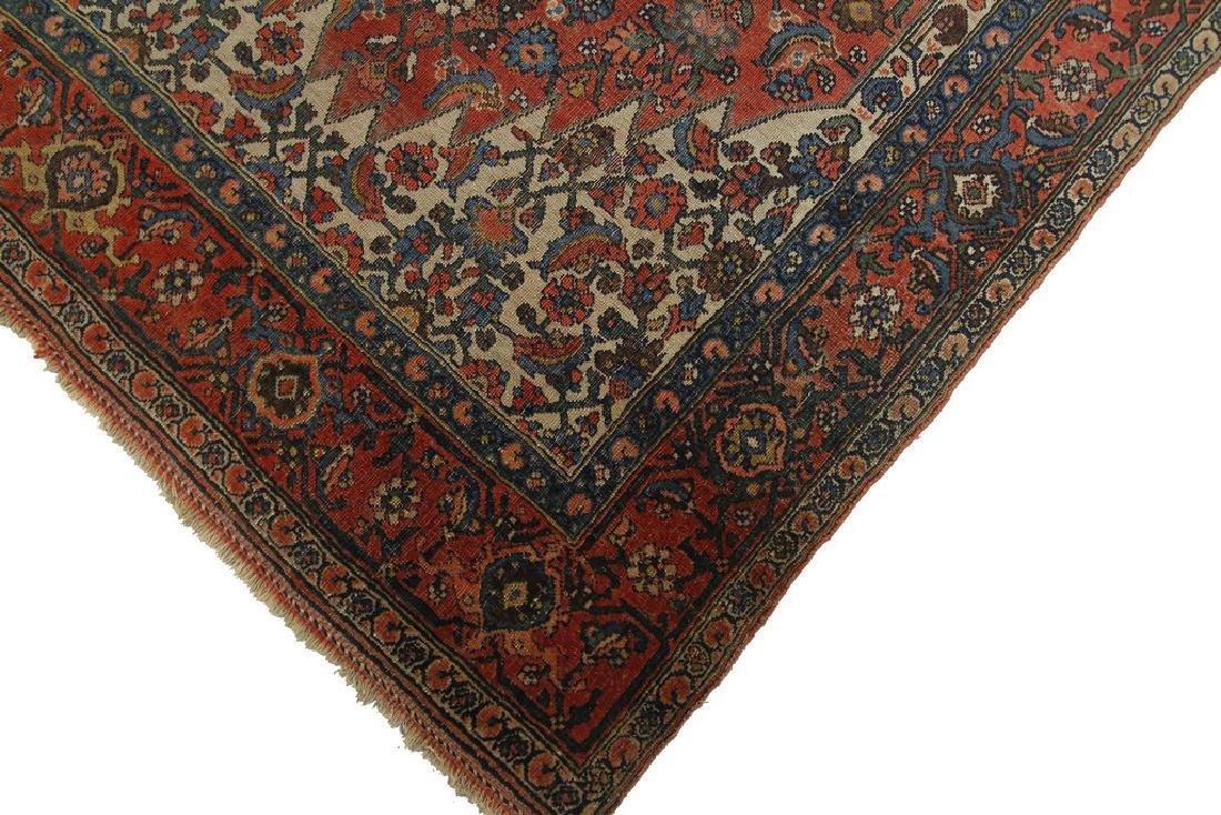 Authentic Antique Bijar Rug Fine Persian Rug 5x8 - 5