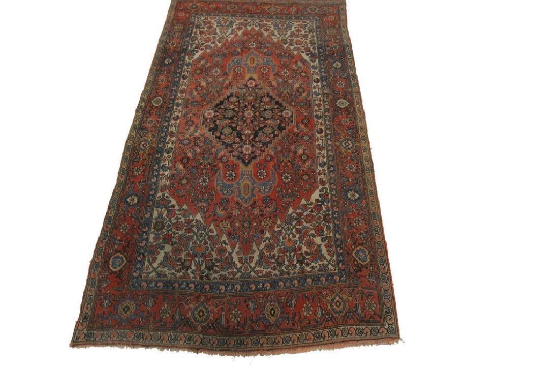 Authentic Antique Bijar Rug Fine Persian Rug 5x8 - 9