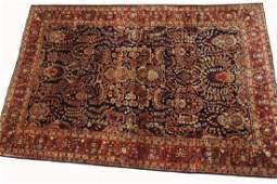 Antique Persian Sarouk Mohajeran Rug 7x10