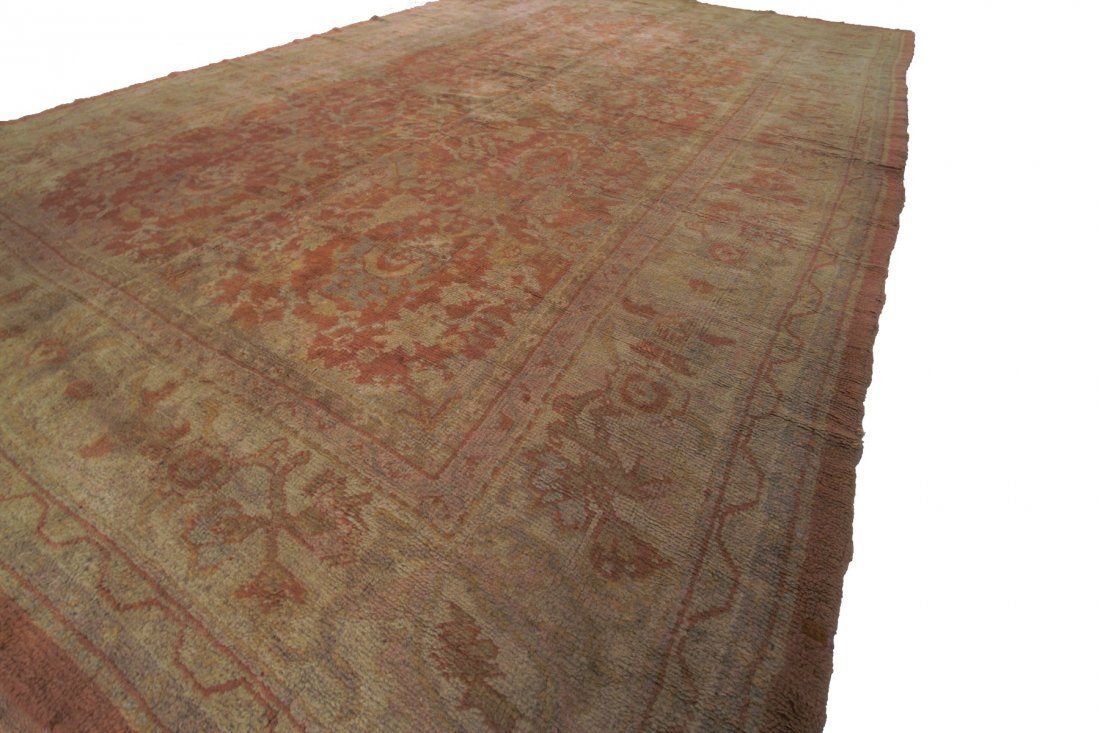 Authentic Antique Oushak Rug Hand Made Rug 10x15