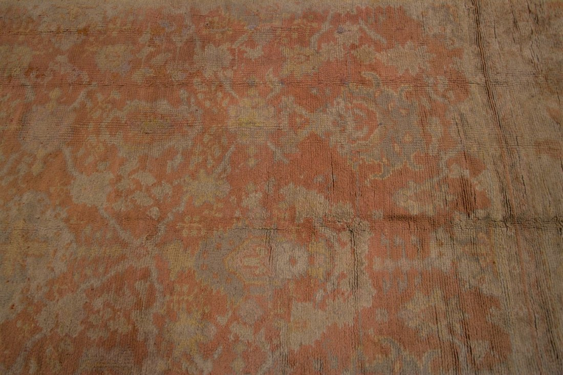 Authentic Antique Oushak Rug Hand Made Rug 10x15 - 3