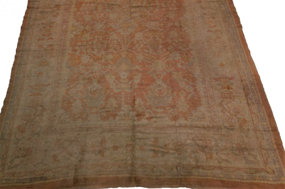 Authentic Antique Oushak Rug Hand Made Rug 10x15 - 4