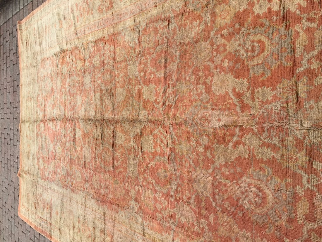 Authentic Antique Oushak Rug Hand Made Rug 10x15 - 5