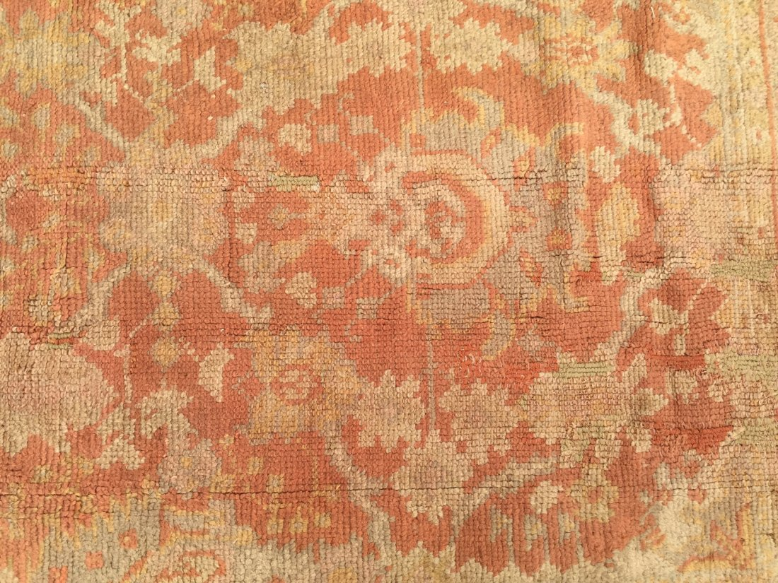 Authentic Antique Oushak Rug Hand Made Rug 10x15 - 7