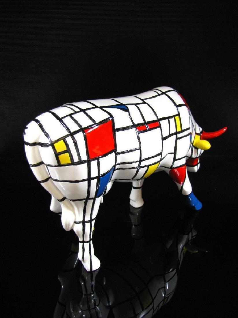 CowParade - Cow Moondrian Large - Jon Eastman - 5