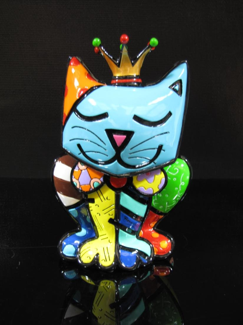Romero Britto - Cat Royalty
