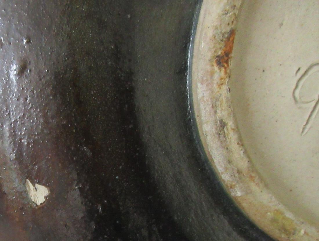 Roger Guerin Art Deco Ceramic Plate w/ Greek Archer - 5
