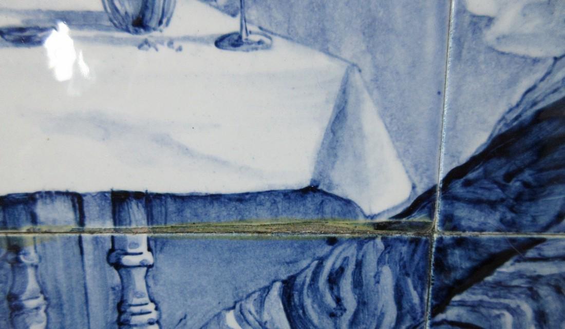Delftware Ceramic Tile Painting, J. Mourik - 8