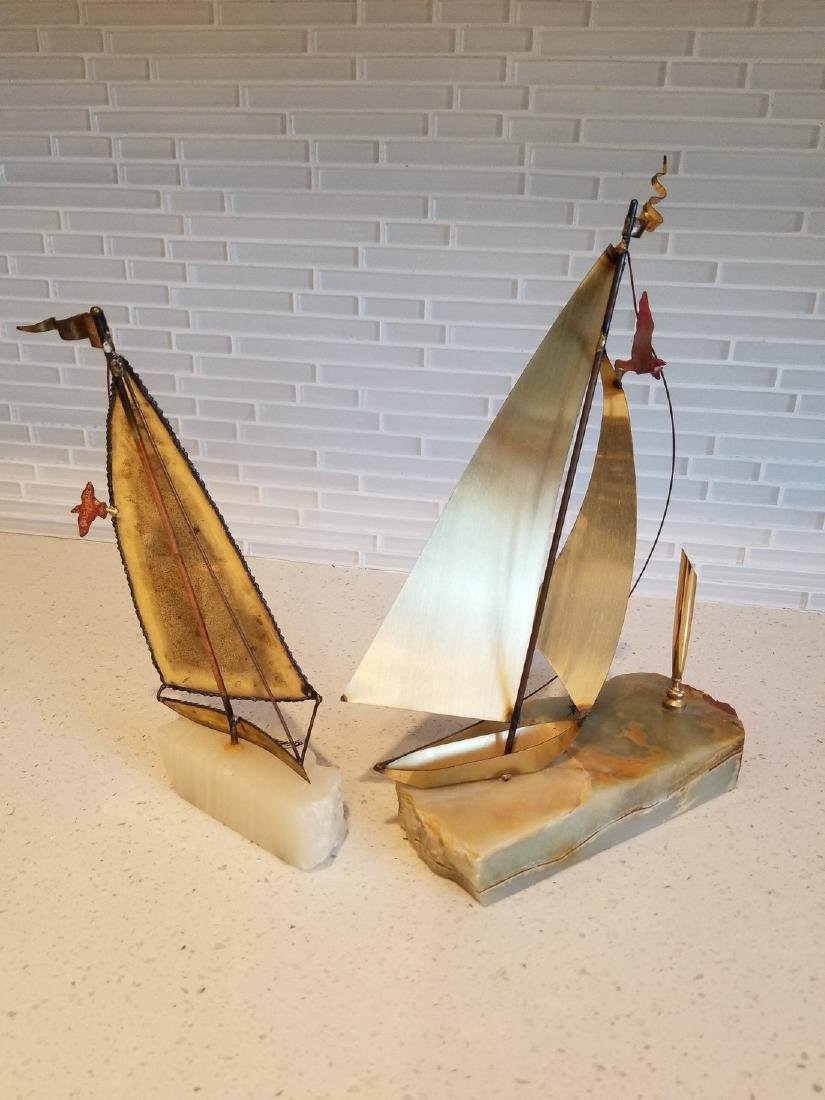 2 Two Curtis Jere Signed Sailboats - 5