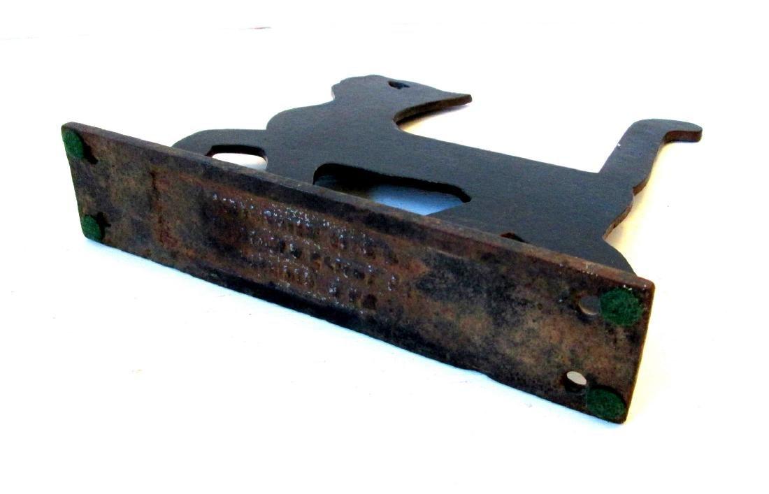 Rare Cat Boot Scraper - 4