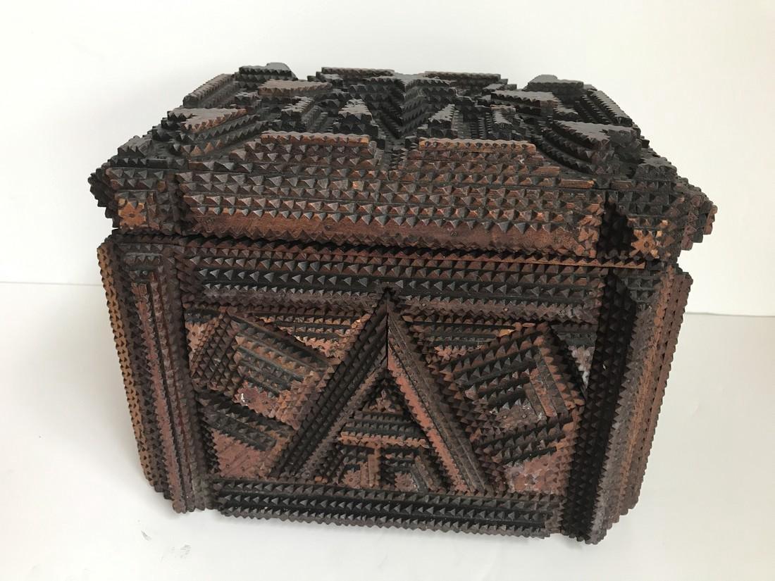 Tramp Art Box - 2
