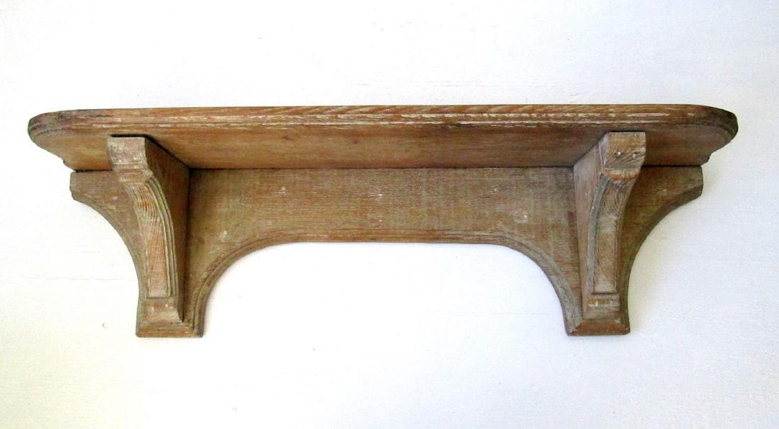 Early Carved Wall Shelf