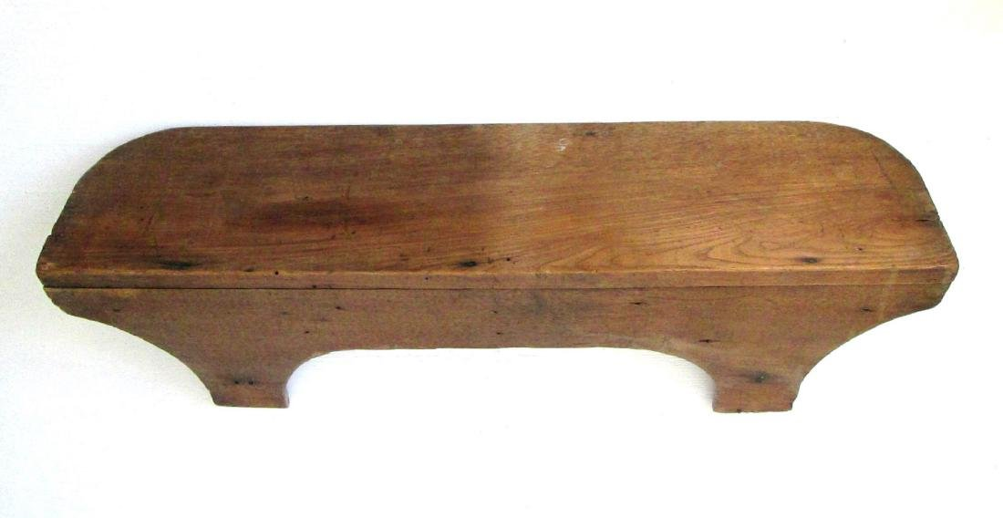 Early Carved Wall Shelf - 2