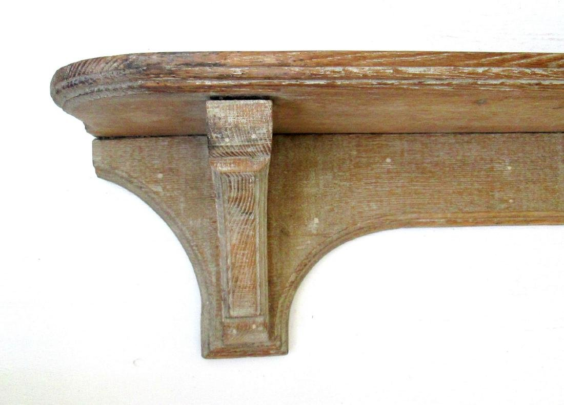 Early Carved Wall Shelf - 3