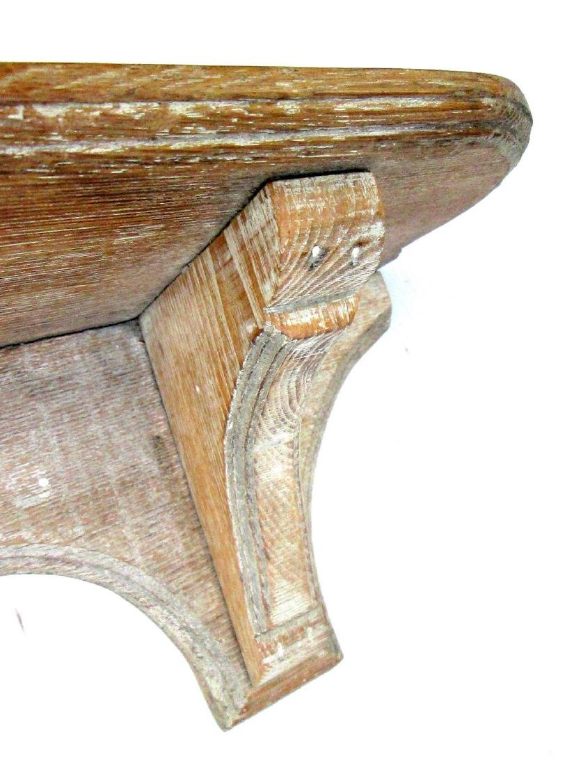 Early Carved Wall Shelf - 6