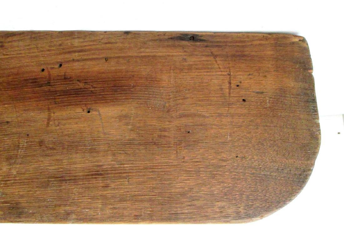 Early Carved Wall Shelf - 7