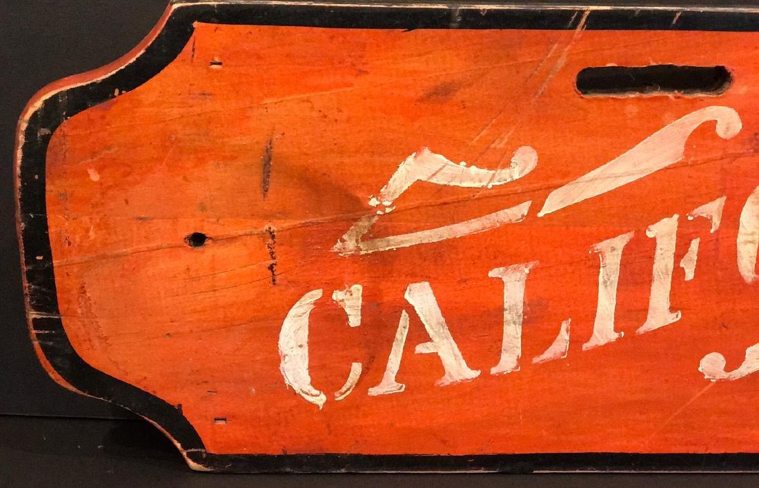 CALIFORNIA Sign, c. 1890 - 2