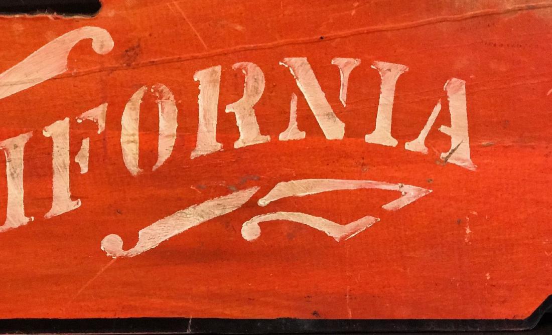 CALIFORNIA Sign, c. 1890 - 3
