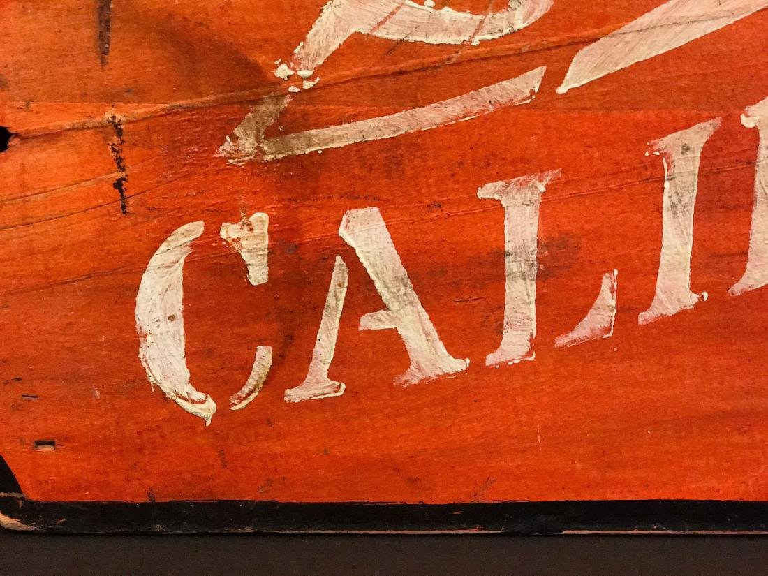 CALIFORNIA Sign, c. 1890 - 4