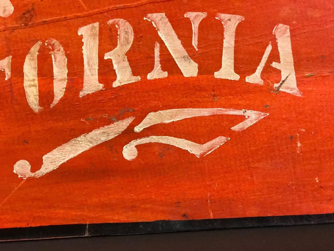 CALIFORNIA Sign, c. 1890 - 5
