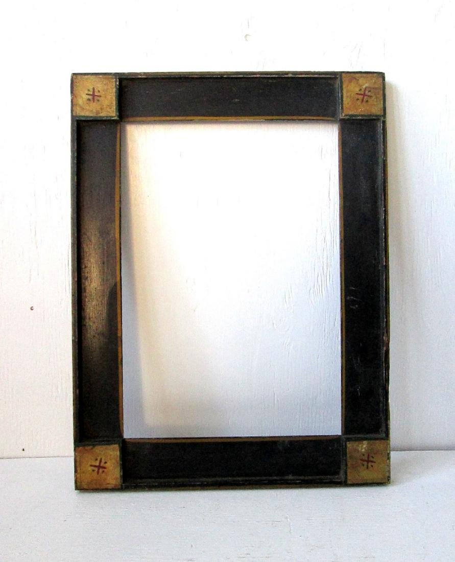 Early Paint Decorated Frame