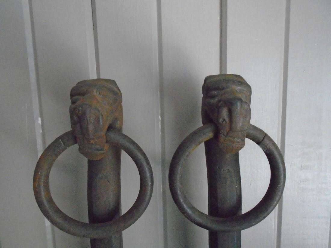 Unusual Pair of Dogs With Rings - 4