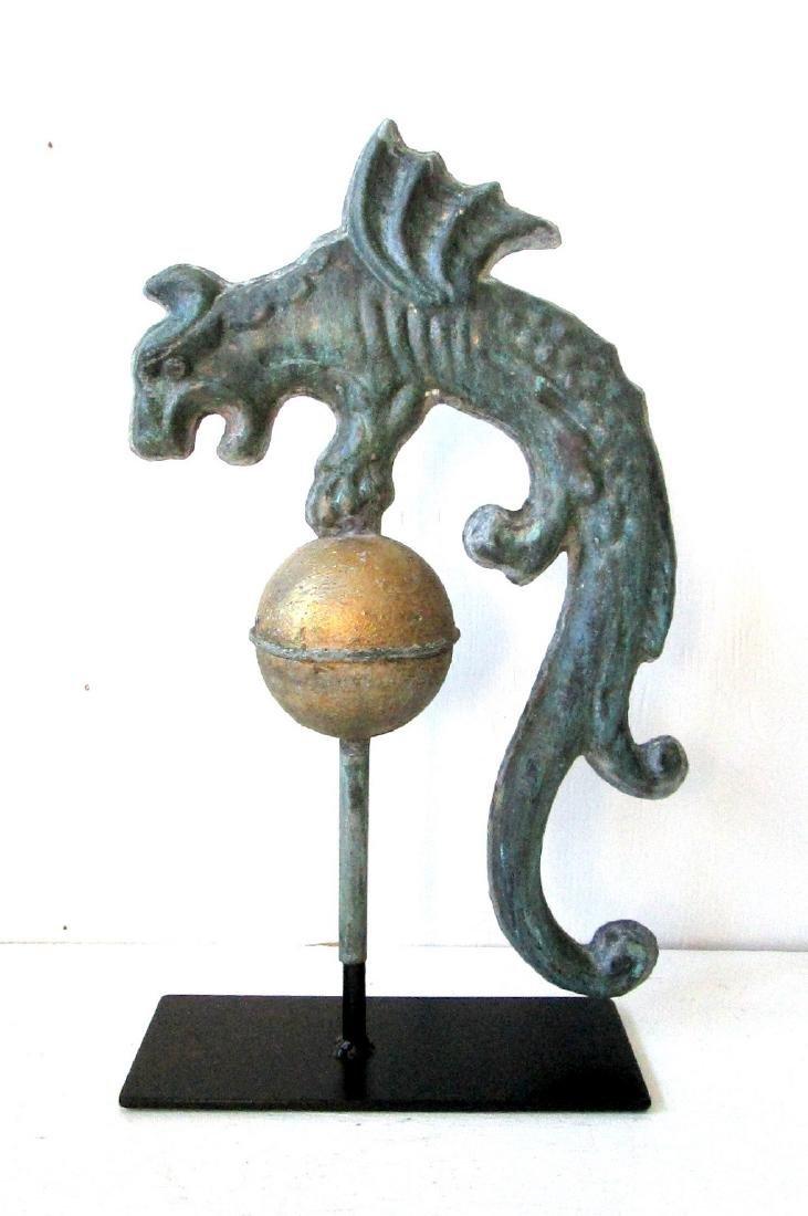 Rare Early Gargoyle Weathervane