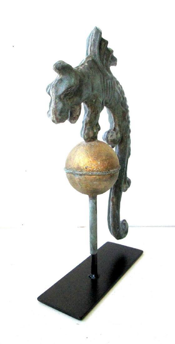 Rare Early Gargoyle Weathervane - 7