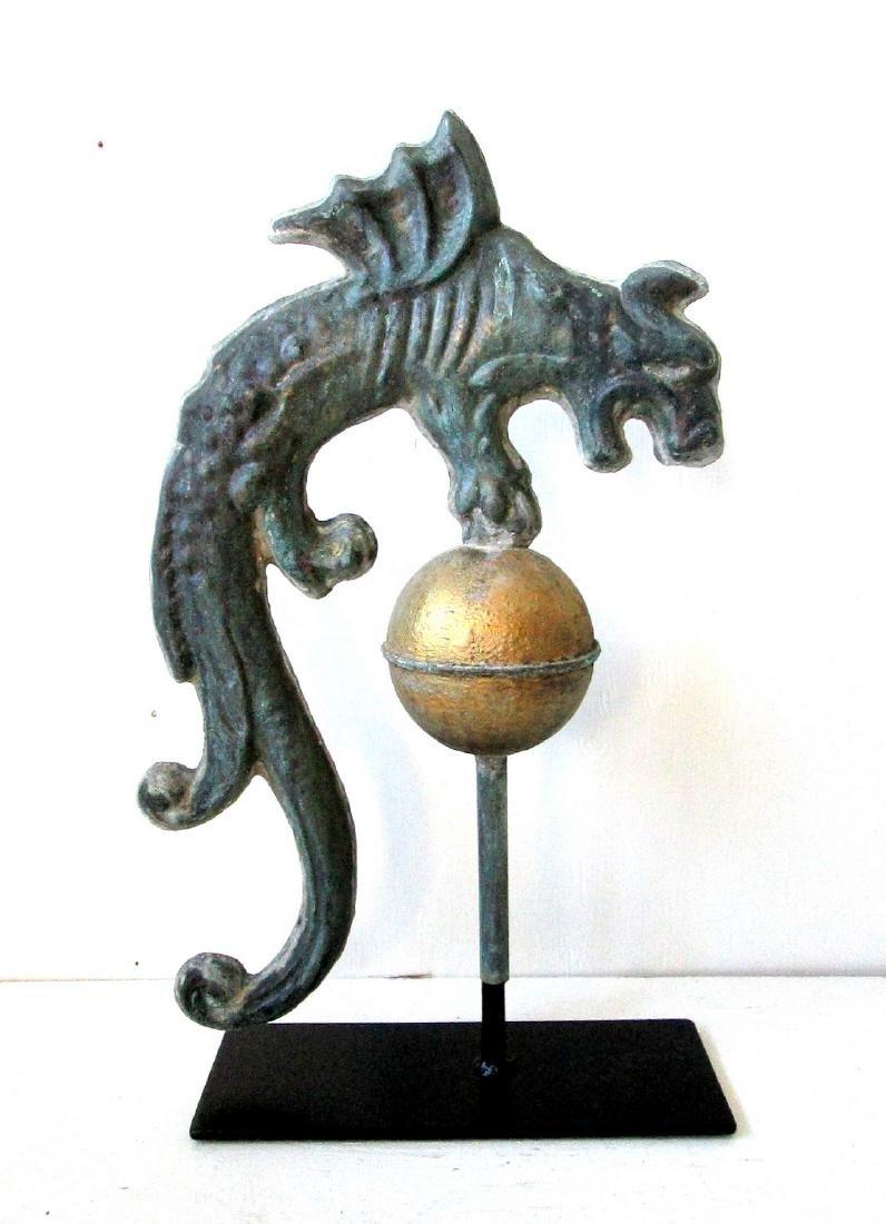 Rare Early Gargoyle Weathervane - 8