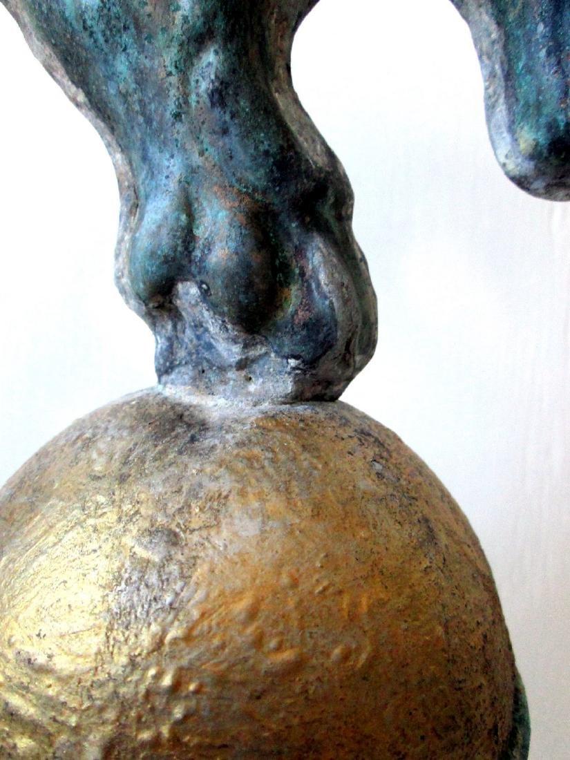 Rare Early Gargoyle Weathervane - 9