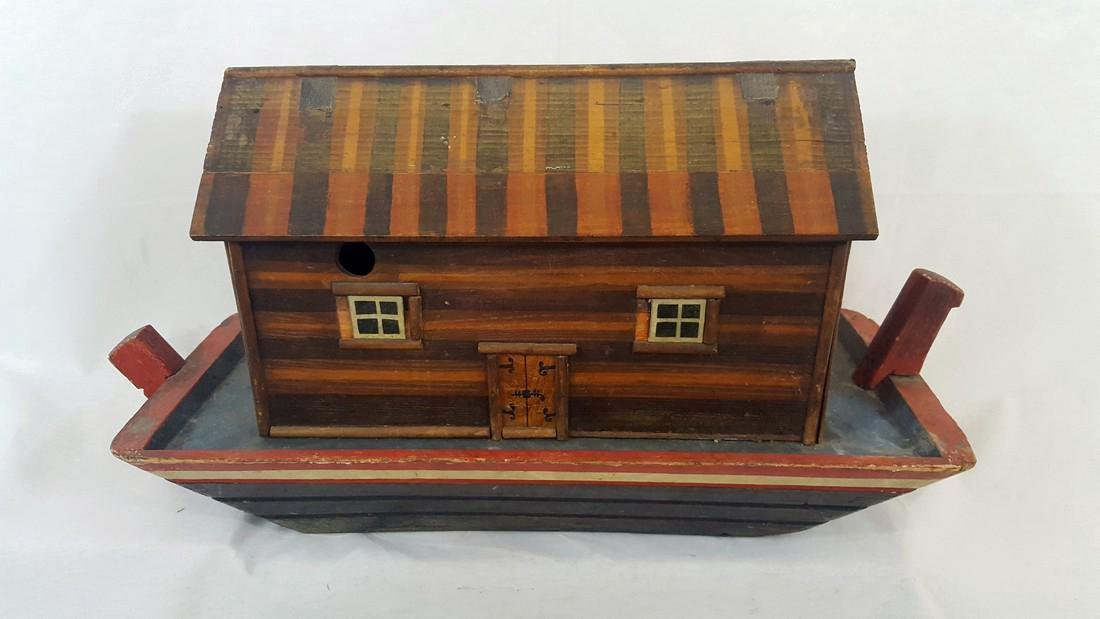 Noah's Ark German Pull Toy Ca1900