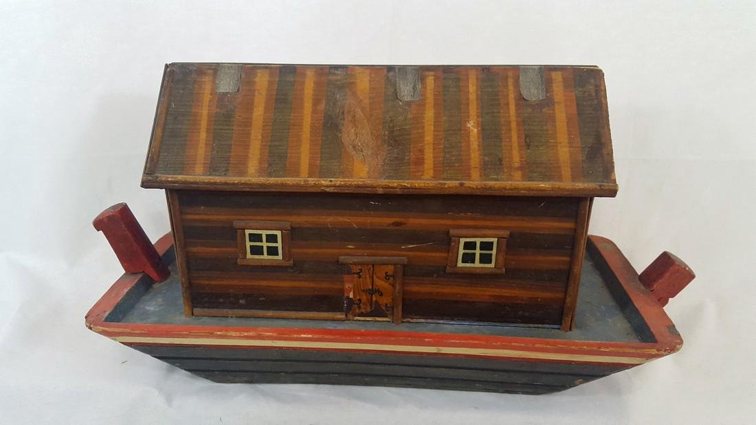 Noah's Ark German Pull Toy Ca1900 - 2