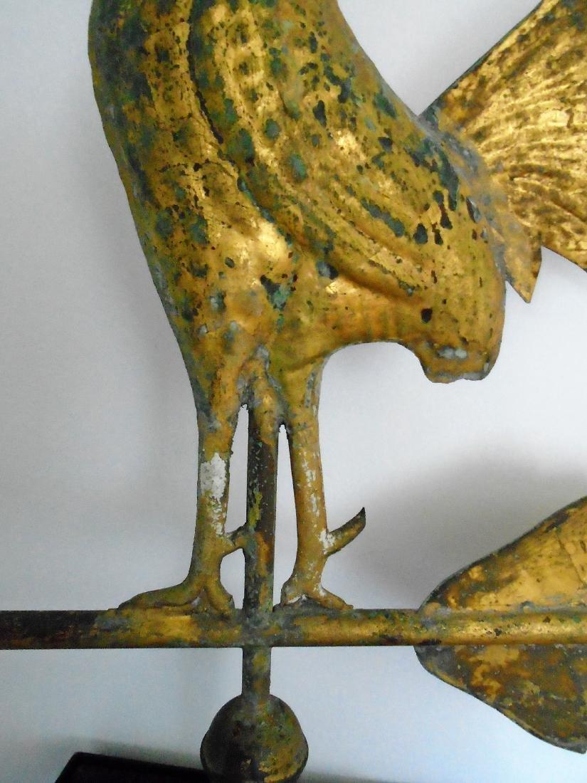 American Molded Copper Gamecock Weathervane - 4