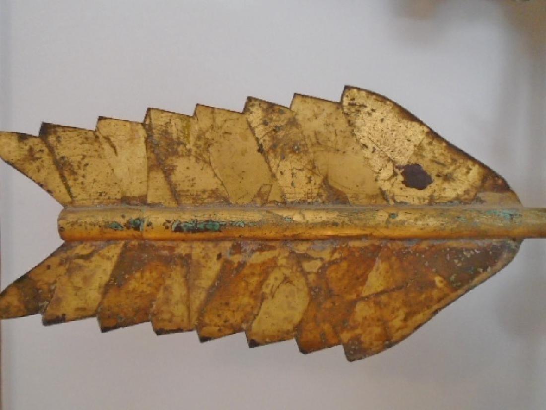American Molded Copper Gamecock Weathervane - 5