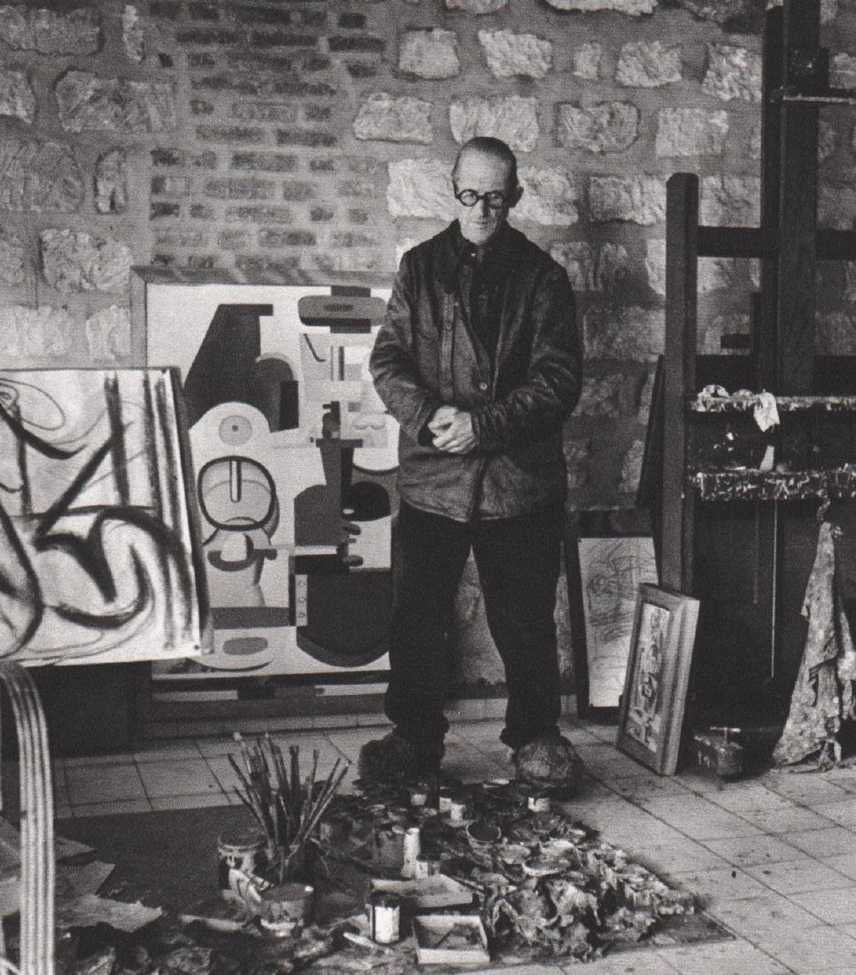 ROBERT DOISNEAU - Le Corbusier 1944