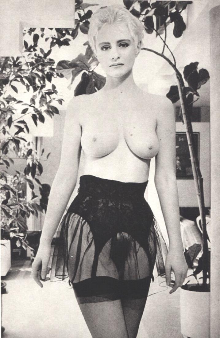 BETTINA RHEIMS  - Woman in Garter Belt