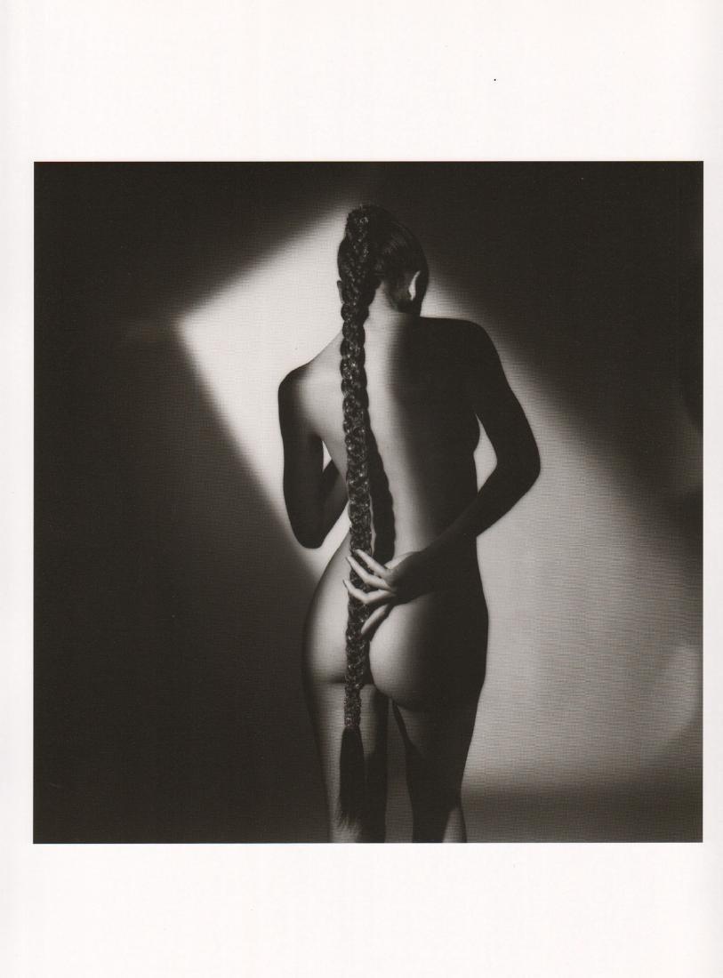 JEANLOUP SIEFF - Nude with Plait, Paris 1985