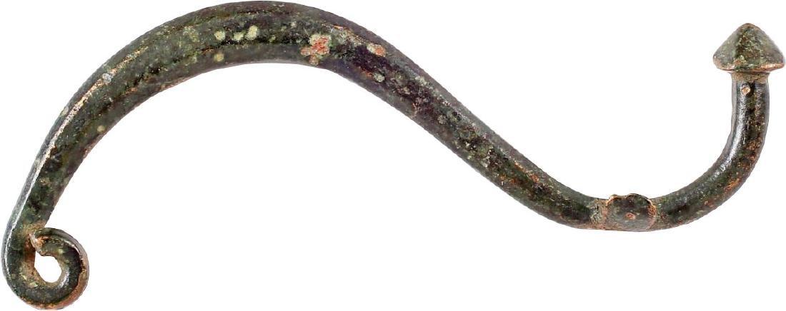 GREEK BOW FIBULA, 4th-2nd CENTURY BC