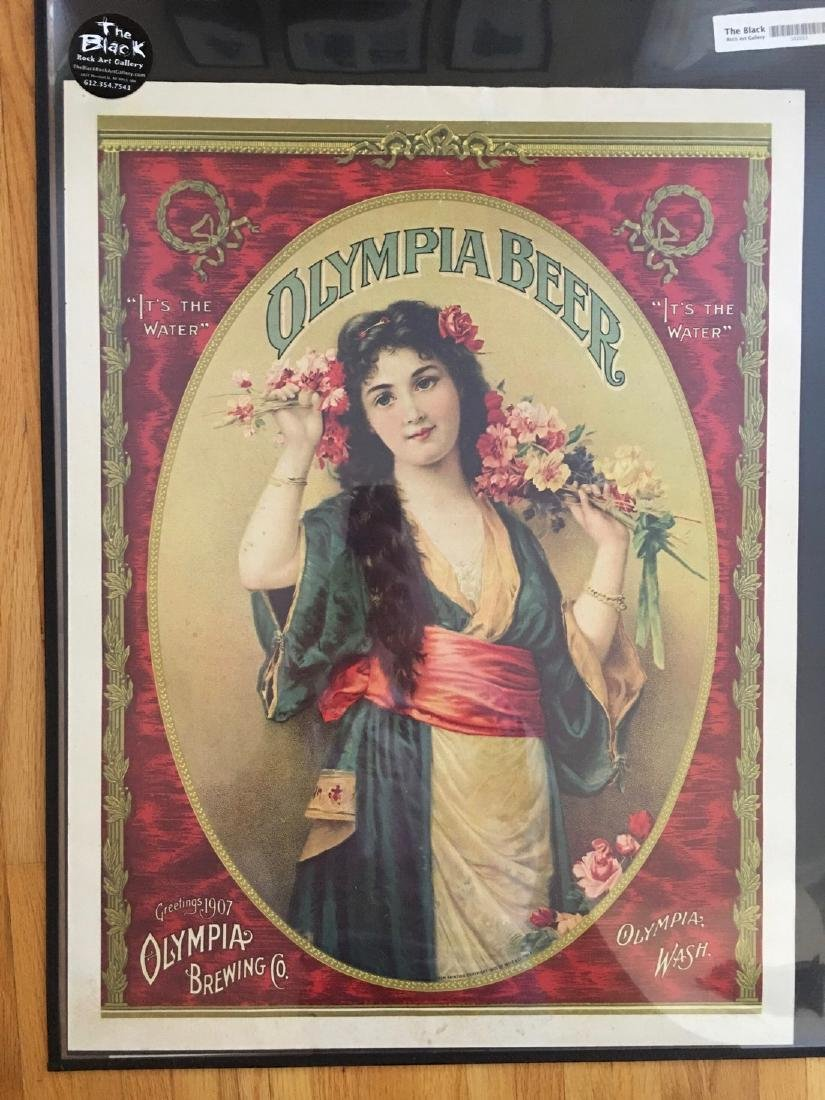 OLYMPIA BEER POSTER #2